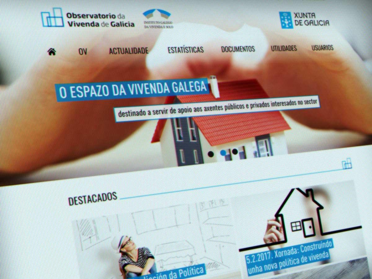 Primeira reunión do  Consello do Observatorio da Vivenda de Galicia