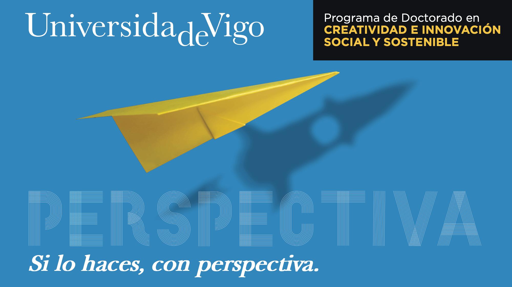 Campaña de captación para el Doctorado de Creatividad e Innovación Social y Sostenible de la Uvigo