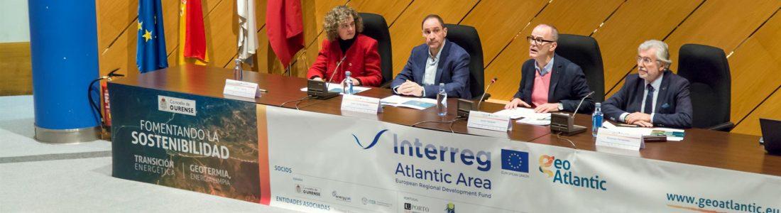 Ourense acolleu a presentación do proxecto  Geoatlantic, unha aposta pola sustentabilidade no campo da enerxía  xeotérmica