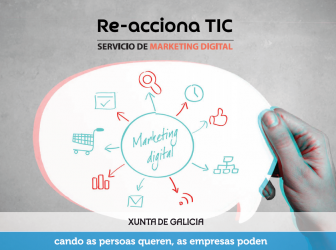 Cerca de 40 pymes gallegas se beneficiaron del servicio de marketing digital de Re-acciona TIC